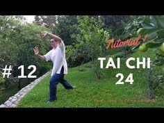 Tai Chi forma 24 - Tutorial - Clase #12 - - YouTube Qi Gong, Kundalini Reiki, Tai Chi Exercise, Tai Chi Qigong, Yoga Mantras, Chi Chi, Kung Fu, Karate, Martial Arts