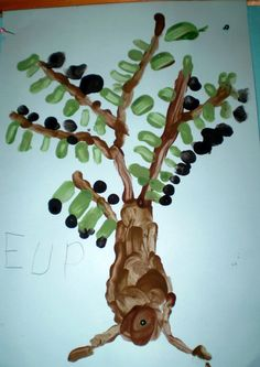 ΤΑ ΤΟΥ ΝΗΠΙΑΓΩΓΕΙΟΥ: Η ΕΛΙΑ Art Projects, Projects To Try, Arabic Alphabet, Olive Tree, Olives, Crafts To Make, Blog, Autumn, Blogging
