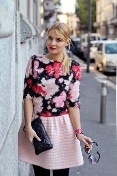 Pink girly dress