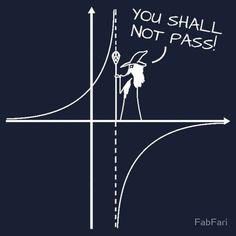 You Shall Not Pass! #MathHumor #MathJoke