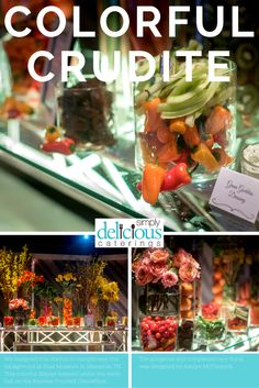 r Flower Garden Crudites display beamed under the disco ball on the Express Yourself Dancefloor at Stax Museum.