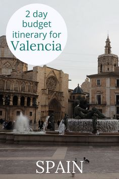 Adoration 4 Adventure's budget itinerary for 2 days in Valencia, Spain (from €37 per day). My Valencia itinerary for two days shares how to get to Valencia and where to stay on a budget. Recommendations of things to do in Valencia, Spain.features Turia Gardens, City of Arts and Sciences, and Playa de la Malvarrosa.
