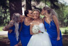 Beatissa: Täydellinen hääaamu Girls Dresses, Flower Girl Dresses, Bridesmaid Dresses, Wedding Dresses, Flowers, Fashion, Dresses Of Girls, Bridesmade Dresses, Bride Dresses