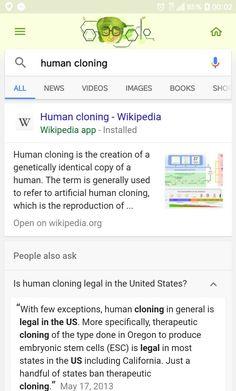 human cloning wikipedia