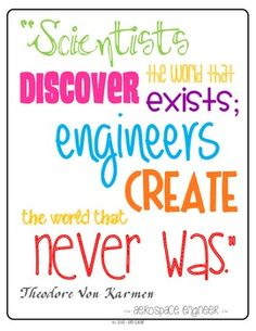 This set includes posters illustrating the steps of the Engineering Design Process. There are two versions of each poster - different colors and cl. Design Process Steps, Engineering Design Process, Leadership, Engineering Quotes, Chemical Engineering, Civil Engineering, Stem Classes, Coding For Kids, Stem Science
