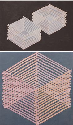 amanda brazier {paintings, made with home-made paint!)