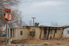 Place Across the Tracks Restaurant, Tucumcari, New Mexico, USA, 2013