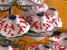 Bloodshot Peanut Butter Eyeballs from FoodNetwork.com