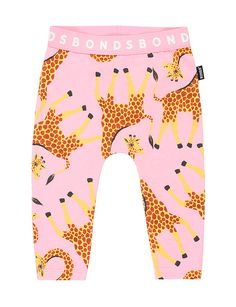 These cute little baby leggings are made of cotton rich stretch fabric for super comfort. In fun designs that are perfect for layering, these footless leggings helps little feet grip the ground. Footless legging helps little feet grip the ground w Baby Leggings, Pink Leggings, Leggings Are Not Pants, Soft Pants, Pink Pants, Cute Little Baby, Little Babies, Breastfeeding Support, Giraffe Print