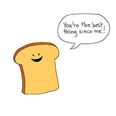 Bread Valentine's Day card craft AND 40 Of The Funniest Puns About Food Punny Puns, Running Quotes, Food Humor, Food Jokes, Student Life, You're Awesome, Cute Illustration, Make Me Smile, Hilarious