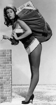 Merry Christmas from Elizabeth Montgomery