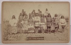 1886 NATIVE AMERICAN APACHE INDIAN CABINET CARD PHOTO By C S FLY GERONIMO BAND | eBay