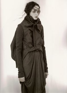 Rick Owens AW 07 by Andreas Sjödin