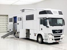 MAN living truck