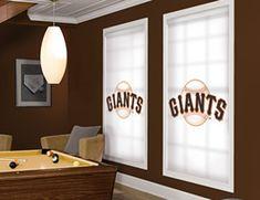 San Francisco Giants Roller Shades