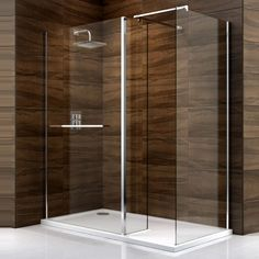 Cooke & Lewis Cascata Rectangular Lh Shower Enclosure Tray & Waste Pack With Walk-In Entry Square Shower Enclosures, Electric Showers, Drum Shade Chandelier, Contemporary Toilets, Ideal Bathrooms, Ensuite Bathrooms, Small Toilet, Bathroom Wall Decor, Bathroom Ideas