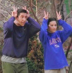 How you doin'? Ross and Monica Friends Tv Show, Tv: Friends, Chandler Friends, Serie Friends, Friends Scenes, Friends Cast, Friends Episodes, Friends Moments, Friends Forever