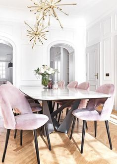 f6dbd82d5e3 15 Best Pink Dining Rooms images