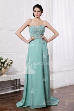Fascinating Sheath/Column Sweetheart Sleeveless Ruffles Floor-Length Chiffon Bridesmaid Dresses