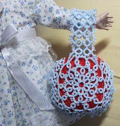 タティングバッグ糸玉