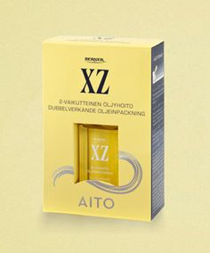XZ hair oil, a Finnish classic I've used for decades.