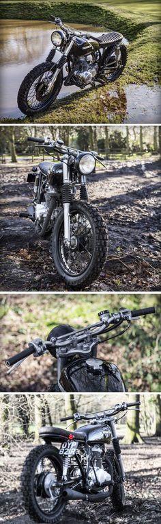 Nice Honda CB360 Scrambler