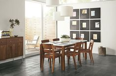 The Linden dining table is a modern wood dining table. Our wood dining table with stone pairs well with modern dining room furniture. Classic Dining Room Furniture, Modern Dining Table, Dining Furniture, Dining Chairs, Room Chairs, Dining Rooms, Office Furniture, Ottoman In Living Room, Home Decor Items