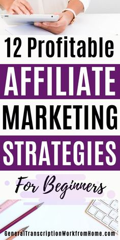 The Best Affiliate Marketing Strategies for Beginners. How to make money in affiliate marketing and become a successful affiliate marketer. #affiliatemarketing #affiliatemarketingforbeginners   #affiliatemarketingtips #passiveincome   #affiliatemarketingpassiveincome #onlineincome #makemoneyonline #makemoneyblogging Make Money On Amazon, Make Money Online, How To Make Money, Marketing Strategies, Media Marketing, Amazon Affiliate Marketing, Best Online Jobs, Online Income, Work From Home Jobs
