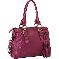 Isabella Fiore Whipped Satchel - Mulberry - via eBags.com!