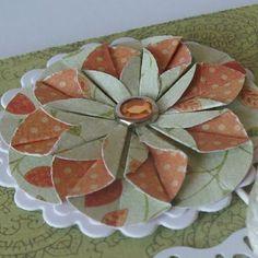 Kwiatek origami