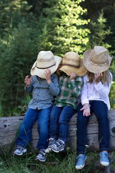 Country Kids - Blue Jeans & Straw Hats