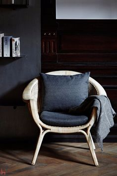 The Madame easy chair is a design by Nanna & Jørgen Ditzel.