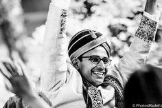 Pooja and Sid - Baraat conducted by DJ Gaurav - Hindu Wedding at Westmount Country Club.. Wedding Coordinated by Elite Events Best Wedding Photographer PhotosMadeEz, Award winning photographer Mou Mukherjee. Gujarati Bride and North Indian Groom Indian Wedding in New Jersey . Gujarati Wedding #SidHartsPooja #PANDEmonium #chulbulpandemeetsmispoo Featured in Maharani Weddings.