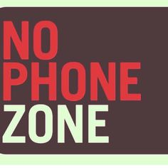 I recommend the family kitchen is a no phone zone  #noPhoneZone #balance