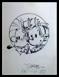 Spirou et Fantasio Comic Art