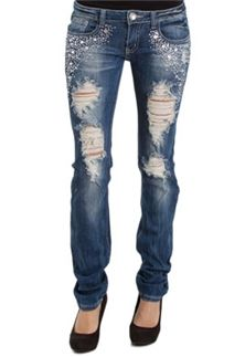 Machine Jeans Bling Destruction Skinny
