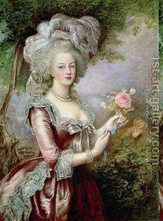 Ouise Campbell Arcilla: María Antonieta (1755-1793), después de Vigée-Lebrun