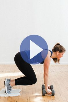 This circuit workout consists of 16 strength training exercises using dumbbells to work every muscle group in 30 minutes. Youtube Workout Videos, Home Workout Videos, At Home Workouts, Training Exercises, Strength Training Workouts, Face Exercises, 30 Minute Workout, Hard Workout, Aerobics Workout