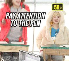 Sunny of SNSD and her fast reflexes