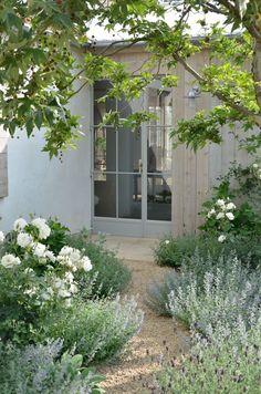 Tuscan Garden, Farmhouse Garden, Garden Cottage, Farmhouse Front, Meadow Garden, Cottage Front Yard, Garden Front Of House, House Yard, Garden Living