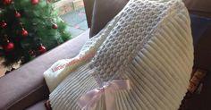 ROPITA PARA BEBES HECHA ARTESANALMENTE Knitting Stiches, Baby Knitting, Julia Sanchez, Crochet Motif, Wicker, Throw Pillows, Blanket, Knit Shawls, Knitting Patterns
