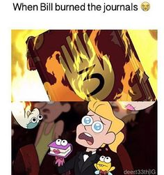 But the puppets where my gravity falls book and my phone XD