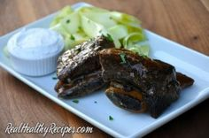 Teriyaki Braised Short Ribs | Real Healthy Recipes http://realhealthyrecipes.com/2015/03/05/teriyaki-braised-short-ribs/
