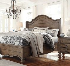 wood panel bed 2