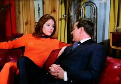 The Avengers - Diana Rigg and Patrick Macnee