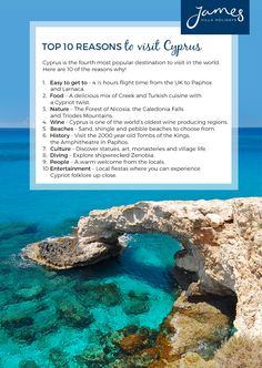 Discover our Cyprus holidays at James Villa Holidays