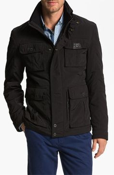 BOSS Black 'Cosey' Trim Fit Jacket available at #Nordstrom