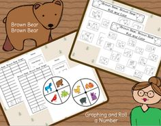 Brown Bear, Brown Bear freebies
