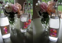DIY Stained Glass Bottles