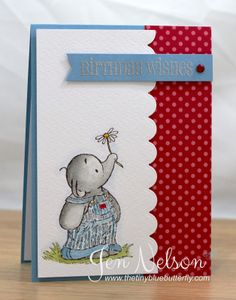 The Tiny Blue Butterfly: Humphrey's Birthday Wishes Birthday Greeting Cards, Birthday Greetings, Birthday Wishes, Happy Birthday, Crafters Companion Cards, Cute Cards, Easy Cards, Fathers Day Cards, Scrapbooking